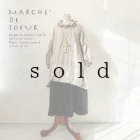 MARCHE' DE SOEUR/ラッフルバルーンチュニック・ベージュ
