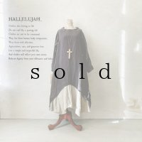 当店限定 HALLELUJAH/1930's Robe・ink black×flax