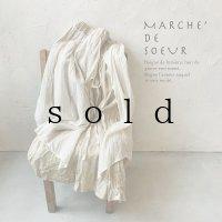 MARCHE' DE SOEUR/教会のスカート・アンティークミルク×生成り