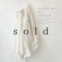 MARCHE' DE SOEUR/教会のスカート・アンティークミルク×ミルク