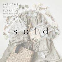 MARCHE' DE SOEUR/Spring SET BAG・若草ベージュ