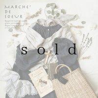 MARCHE' DE SOEUR/Spring SET BAG・スミクロ