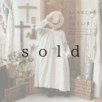 MARCHE' DE SOEUR/後ろリボンワンピース・ミルク