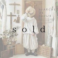 MARCHE' DE SOEUR/ボリューム襟プルオーバー・オフ