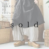 MARCHE' DE SOEUR/バギーパンツ・生成り