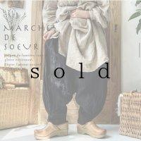 MARCHE' DE SOEUR/王様パンツ・黒