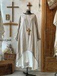 画像1: HALLELUJAH/1930's Robe・flax×off-white (1)