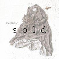 HALLELUJAH/1930's Robe・brown×flax